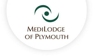 Medilodge of plymouth web logo